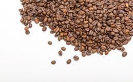 белизна студии съемки фасолей предпосылки изолированная кофе Стоковое Фото