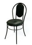 белизна стула предпосылки самомоднейшая Стоковая Фотография RF