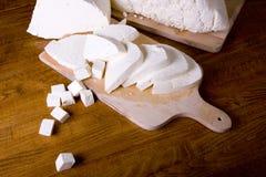 белизна сыра Стоковые Фото