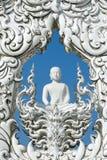 белизна Таиланда виска rai chiang Стоковое Изображение RF