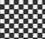 белизна текстуры корзины черная Стоковое Изображение RF
