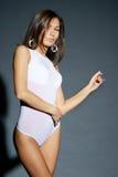 белизна тела женская сексуальная Стоковое фото RF