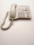 белизна телефона офиса Стоковые Изображения RF