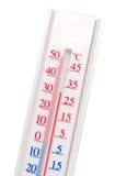 белизна термометра Стоковая Фотография RF