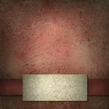 белизна тесемки ярлыка предпосылки красная Стоковое Фото