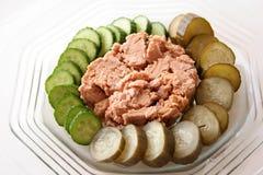 белизна туны мяса Стоковые Фотографии RF