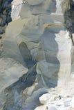 белизна утеса пустыни lybian Стоковая Фотография