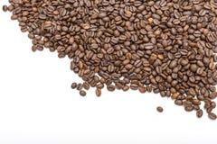 белизна фасолей изолированная кофе Стоковое фото RF