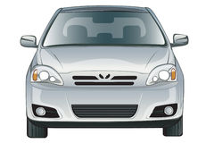 белизна фронта автомобиля предпосылки бесплатная иллюстрация
