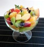 белизна фруктового салата предпосылки Стоковое Изображение RF