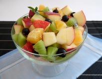 белизна фруктового салата предпосылки Стоковое Фото