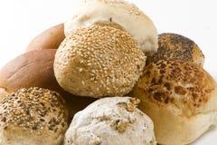 белизна хлеба предпосылки Стоковые Изображения