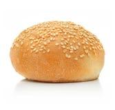 белизна хлебца хлеба свежая изолированная Стоковая Фотография