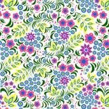 белизна цветка предпосылки цветастая Стоковая Фотография RF