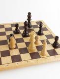 белизна части короля шахмат Стоковая Фотография