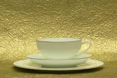белизна чашка Стоковая Фотография