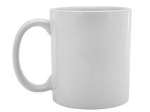 белизна чашки стоковое изображение rf