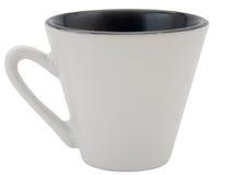 белизна чашки стоковое изображение