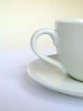 белизна чашки Стоковое Фото