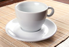 белизна чашки Стоковое фото RF