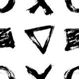 белизна черной картины безшовная иллюстрация штока