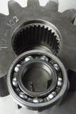 белизна черной принципиальной схемы техническая Стоковая Фотография RF