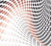 белизна черных кругов предпосылки померанцовая Иллюстрация вектора