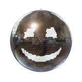 белизна шарика предпосылки изолированная диско сь Стоковое фото RF