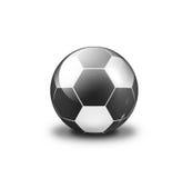 белизна шарика черная Стоковые Фотографии RF