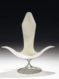 белизна шарнирного соединения стула Стоковые Изображения