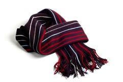 белизна шарфа Стоковое Изображение RF