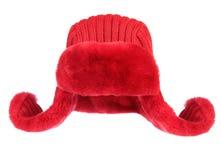 белизна шерсти крышки предпосылки красная Стоковая Фотография RF
