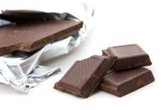 белизна шоколада предпосылки Стоковое Изображение RF