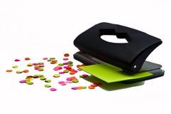 белизна штамповщика офиса предпосылки черная Стоковые Изображения RF