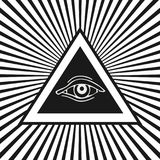 белизна экрана providence глаза предпосылки иллюстрация штока