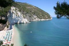 белизна 2 пляжей Стоковое фото RF