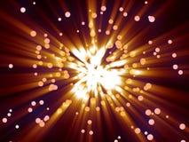 белизна alien фантазии клеток круговой микро- неизвестная Стоковая Фотография RF