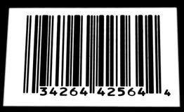 белизна barcode черная Стоковая Фотография RF