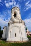 белизна belfry стоковое изображение