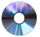 белизна dvd диска Стоковое фото RF