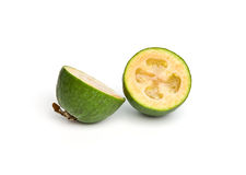 белизна feijoa предпосылки изолированная плодоовощ Стоковое Изображение RF