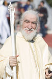 белизна gandalf costume Стоковые Изображения RF
