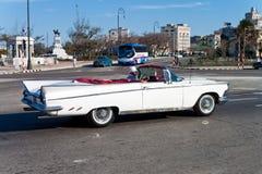 белизна havana автомобиля классицистическая обратимая старая Стоковые Фото
