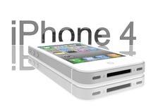 белизна iphone яблока 4s Стоковая Фотография
