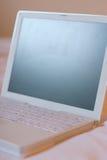 белизна laptop2 Стоковые Изображения
