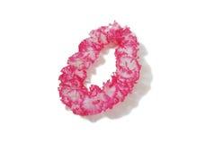 белизна lei розовая Стоковое Изображение RF