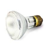 белизна lightbulb предпосылки Стоковые Изображения RF