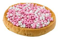 белизна muisjes розовая Стоковые Фото