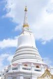 белизна pagoda Стоковые Фото