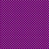 белизна polkadots предпосылки пурпуровая малая Стоковая Фотография